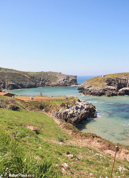 Antilles beach in Cué, Llanes - one of the most peculiar and extraordinarily beautiful places that we found in Asturias, Spain