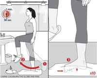 Strengthen your balance with only a pillow! Stealth Exercise. The Globe and Mail