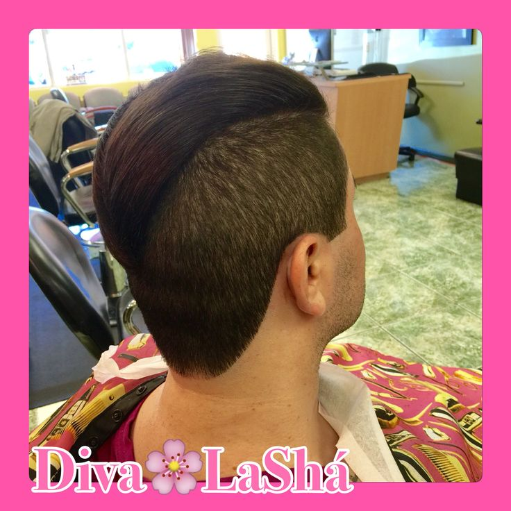 Undercut  Partition cut  Long hair  Short sides  Female barber  Caucasian hairstyles