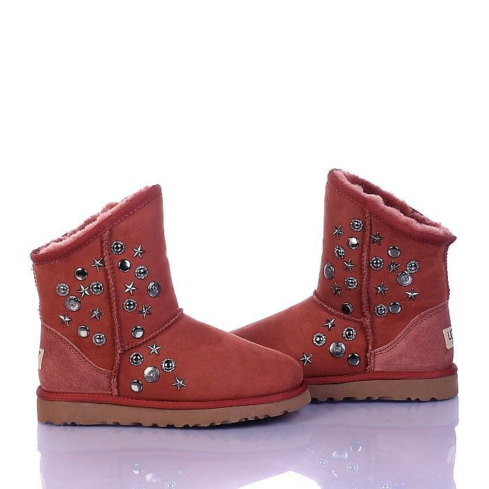 Women UGG Outlets Jimmy Choo Short 5829 Red