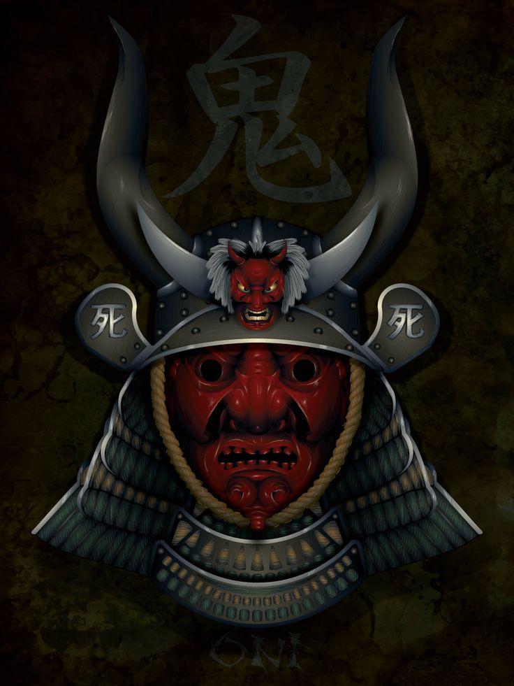 The 25+ best Oni mask tattoo ideas on Pinterest