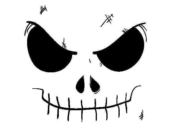 Dibujo De Cara De Bruja Para Colorear: 98 Best Images About Dibujos De Halloween Para Colorear On