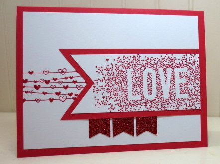 Stampin Up Seasonally Scattered, Valentine Defined, Love, Wedding, Valentines Day, Challenge PPA236