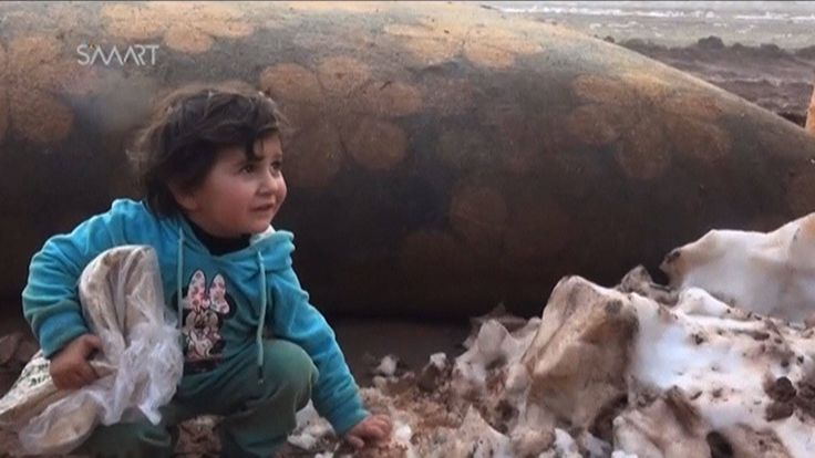 The journalistic monitoring group Airwars says 17 civilians, including nine children, reportedly died in U.S.-led coalition airstrikes on the Syrian city of Tabqa in Raqqa province on Monday. The victims reportedly included the 6-month-old baby Abd al-Salam and the toddler Ali Abu Aish, along with their entire family. Meanwhile, two Democratic lawmakers—Virginia Senator Tim Kaine and California Congressmember Adam Schiff—sent a letter to the White House Tuesday demanding President Trump…