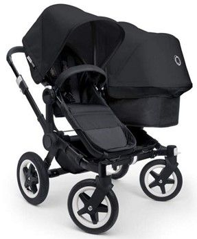 Best Double Strollers of 2014 |FaVe Mom Approved - The @BugabooHQ Donkey Duo Stroller is amazing but heavy! Which is great, because it's durable. With 3 clicks this bad boy converts from full-sized mono to full-sized duo stroller and back again. Took longer to say that to do.