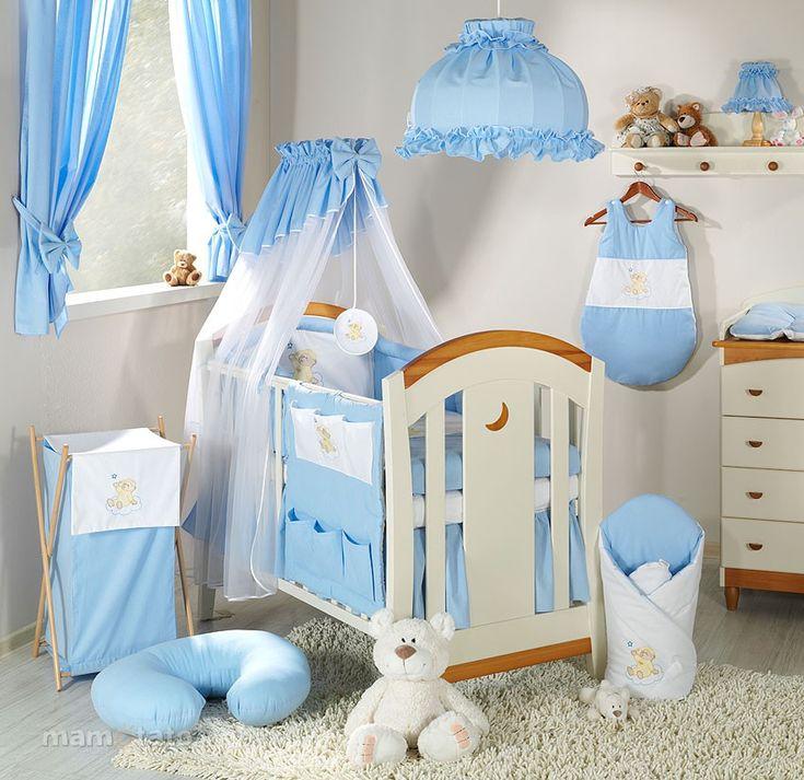 Turbulette gigoteuse - gigoteuse garçon brodée bébé OURS NUAGE Bleu I Gigoteuse / Turbulette bébé pas cher