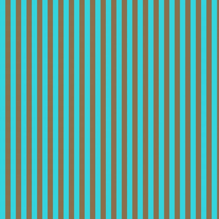 Stampin D'Amour: Digital Scrapbook Paper - Turquoise and Brown Stripes