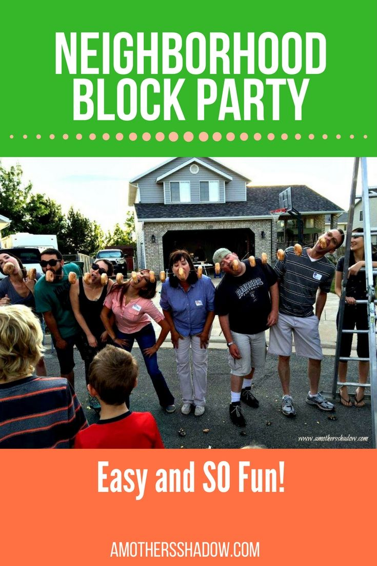 Have you wanted to host or start the tradition of a neighborhood block party?  I have some tips for you for a successful one, and also some ideas for a fun party!