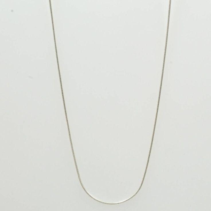 Schlangenkette, 925er Silber, L. ca. 45 cm  12,- €