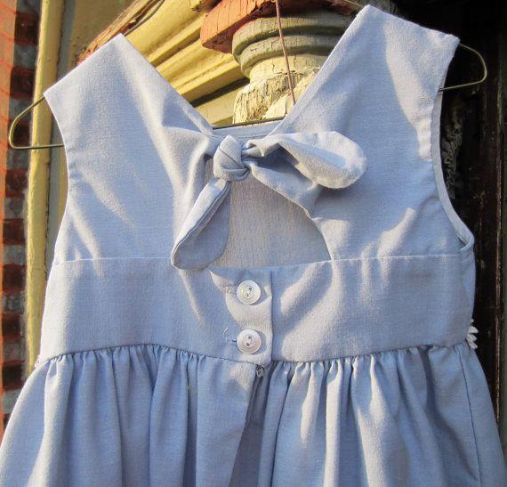 La Princess Oxford Cloth Sundress by heydarlin on Etsy, $17.00
