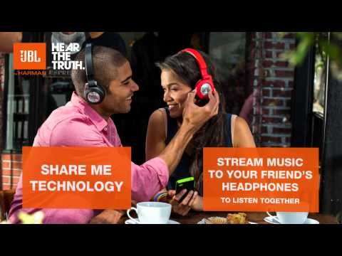Synchros E40BT | On-ear, mobile phone-friendly Bluetooth headphones with ShareMe music sharing | JBL US