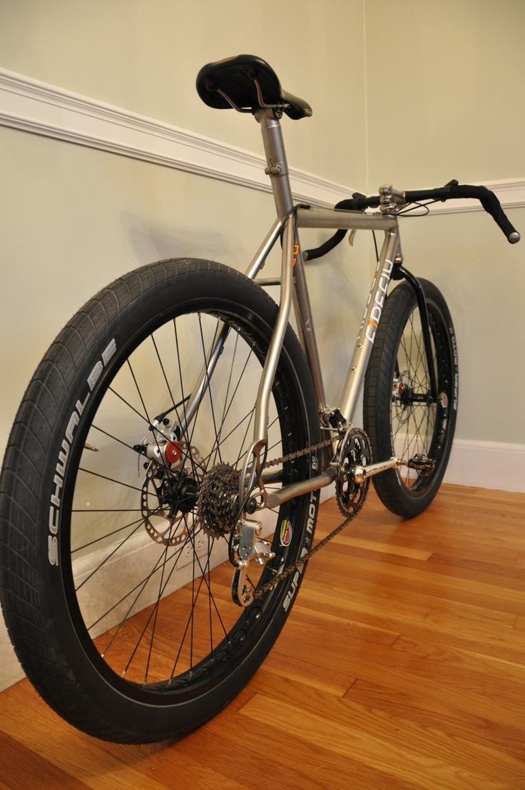 Fat tired city bike?