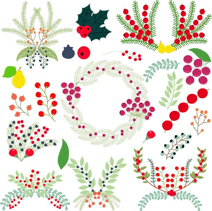 Berry composition by Orangepencil on Etsy