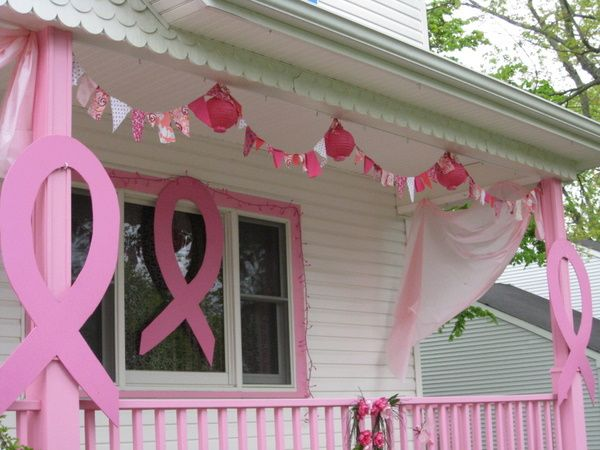 breast cancer awareness month decorations breast cancer decorations pinterest the o 39 jays. Black Bedroom Furniture Sets. Home Design Ideas
