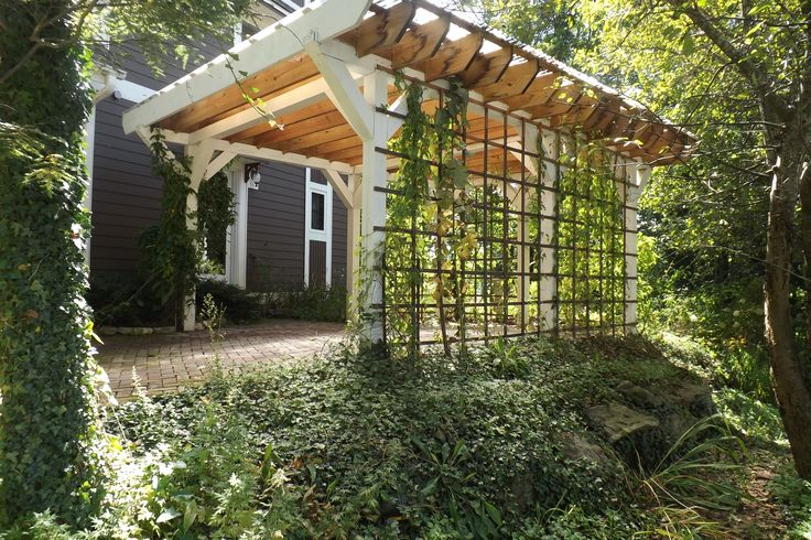 trellis carport out back in the back pinterest