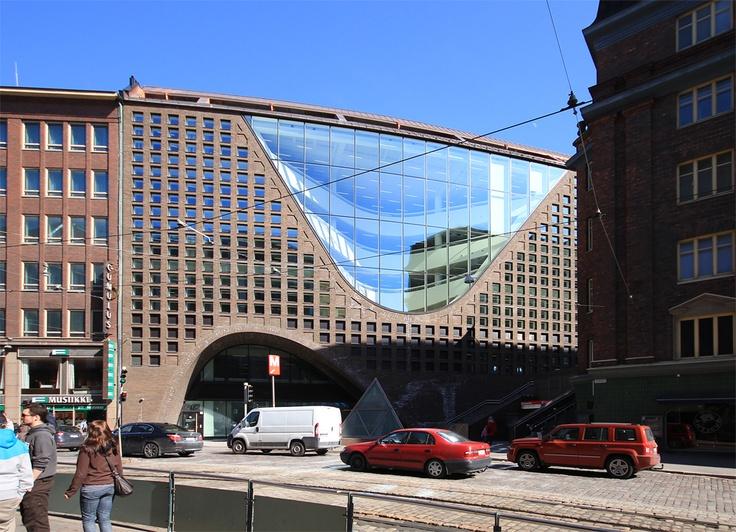 University of Helsinki, Kaisa Library, completed 2012 (AOA Architects, Selena Anttinen and Vesa Oiva)