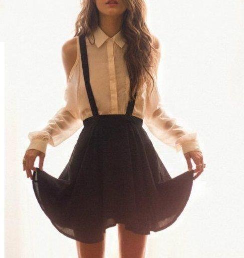 Schoolgirl Kombinleri - Biraz masküler, biraz seksi giyinmeyi sevenler schoolgirl tarzıyla kendi kombinlerinizi yaratabilir. Siyah ve beyaz boyfriend ceketler ve mini etekler ile tarzınıza yeni bir soluk getirebilirsiniz. Modern kadınlar için kolayca iş-okul tarzı kıyafetlerle oynama yaparak nasıl daha şık görünebilec... - http://www.guzelmakyaj.com/schoolgirl-kombinleri/