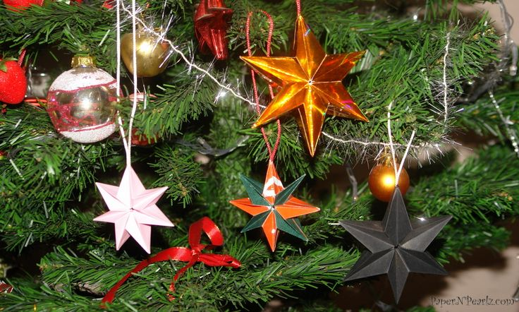 #origami multi point star