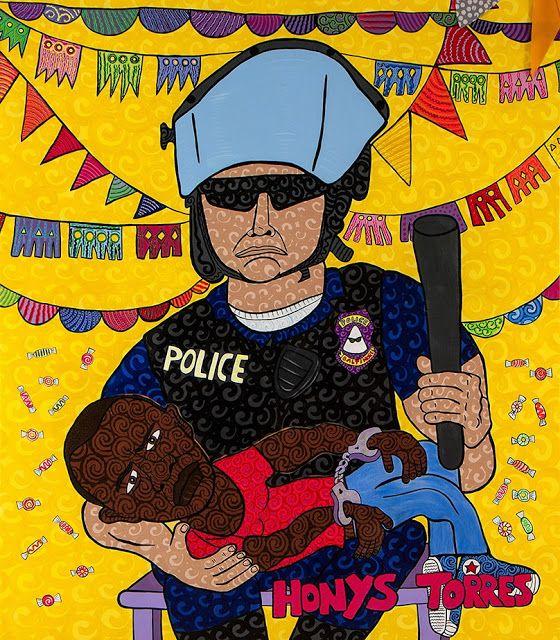 Honys Torres Artista Neo POP: La Piedad Racial