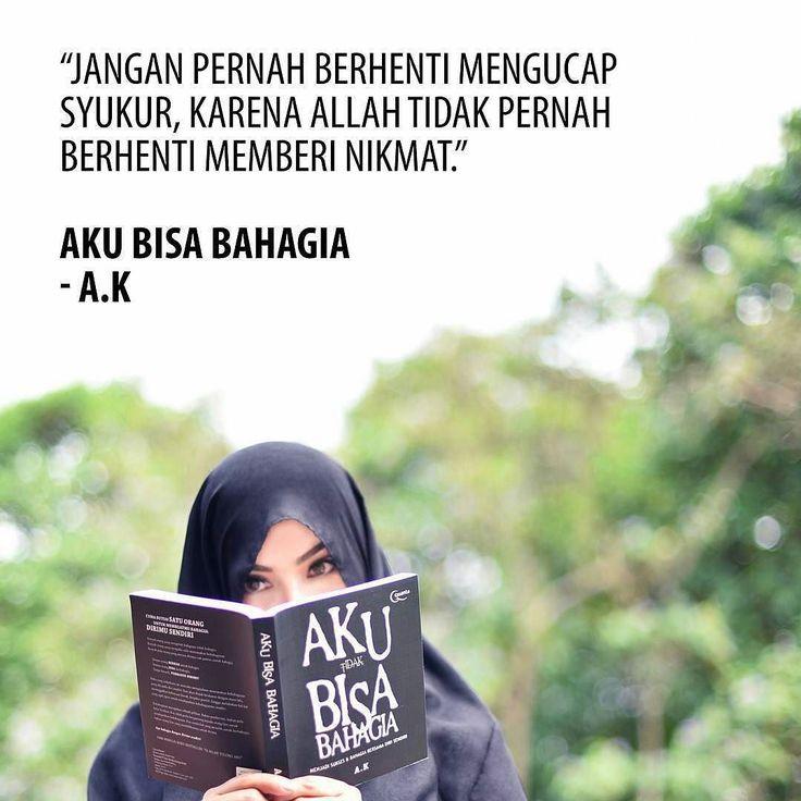 """From @akpenulis -  Alhamdulillah buku """"Aku Bisa Bahagia"""" akan dicetak ulang ke-6 kalinya. Semoga isinya selalu bisa bermanfaat.  #akpenulis #quantabook #bukuquanta #islamkupenuhwarna #quoteislam #quoteislami #motivasiislam #motivasiislami #islamkupenuhwarna #akubisabahagia #Regrann"""