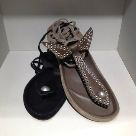 Isabel Marant #infradito #sandal #bow #FolliFollie #SpringSummer #collection