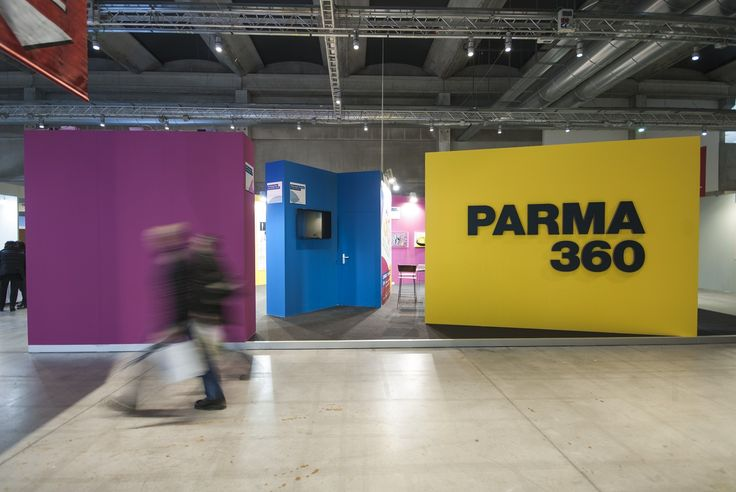 Parma 360 on view, preview in Fiere di PARMA 360 Festival - Pad 4.