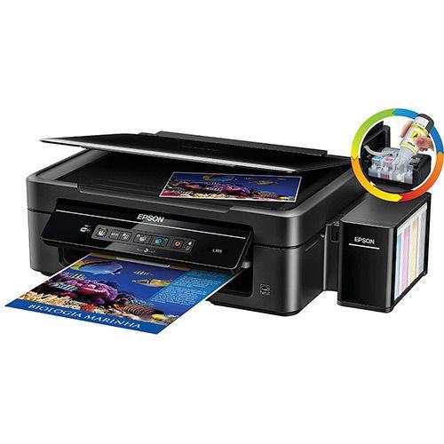 Impressora Multifuncional Epson L365 Tanque de Tinta Wi-Fi - Submarino.com