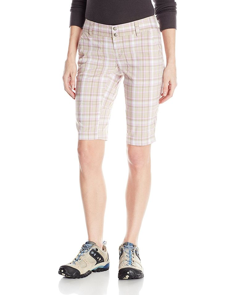 Columbia Sportswear Women's Saturday Trail II Plaid Shorts >>> Insider's special review you can't miss. Read more  : Hiking clothes