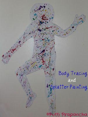 Corps de recherches et d'éclaboussure de peinture pour-enfants-Activités Mondiales Holi ~ de Putti