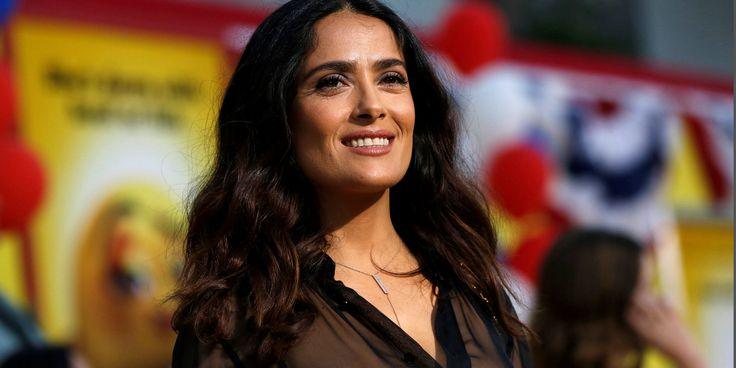 Salma Hayek Said Trump Planted A Story About Her In The National Enquirer After She Refused To Date Him #Politics #iNewsPhoto