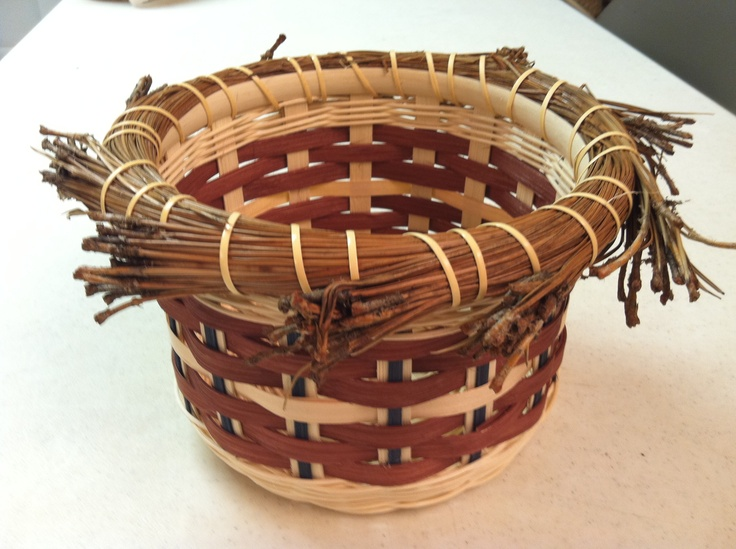 Basket Weaving Using Vines : Best images about make woven vines on
