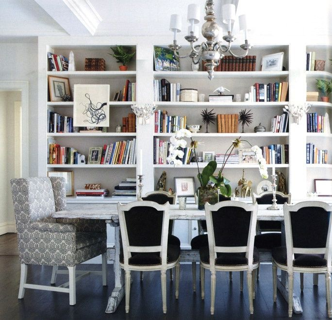 Dining Room Library Combo DR White