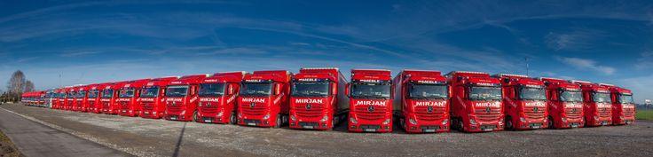 Our lorries :)  #flota #mercedesbenz #mirjan24 #dostawa