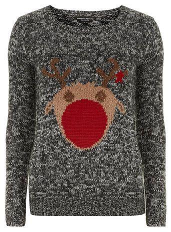 J: Rudolph Christmas Jumper