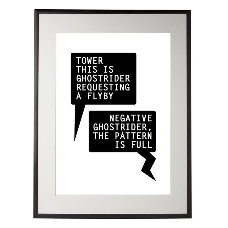 Ghost Rider Quotes About Life And Death: Top Gun Inspired Print