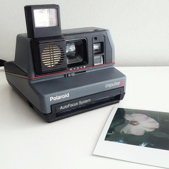 Polaroid Impulse AF Instant Camera  Vintage 1980's by RetroReUp