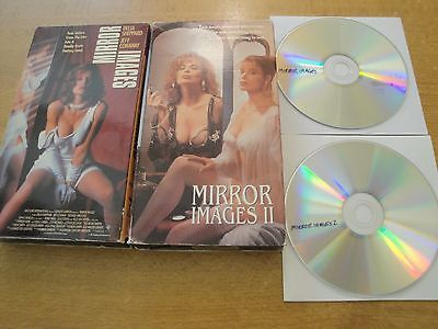 MIRROR IMAGES 1 & 2 II Shannon Whirry Erotica Erotic Sleaze Taboo VHS & DVD