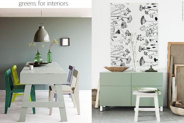 Appunti di casa: Io, il colore verde e altri trend 2016