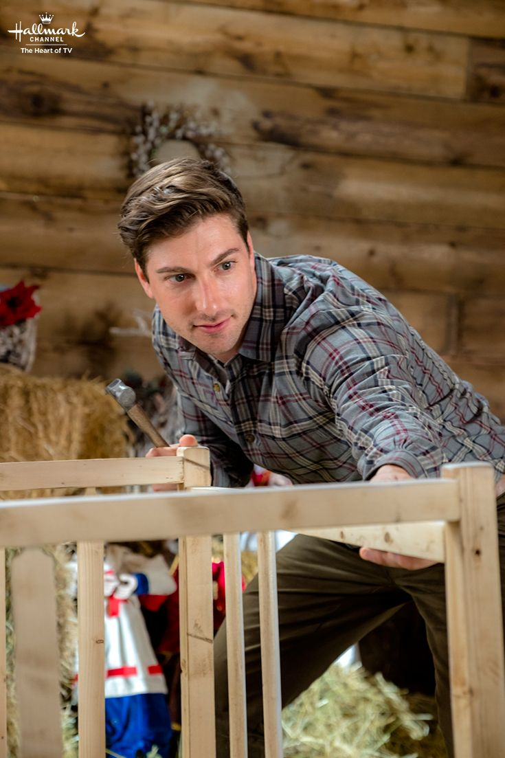 When Calls the Heart: The Christmas Wishing Tree - What is Jack (Daniel Lissing) building for Christmas? A gift for Elizabeth? Find out on Christmas evening on Hallmark Channel.  #CountdownToChristmas #HallmarkChannel #WhenCallsTheHeart