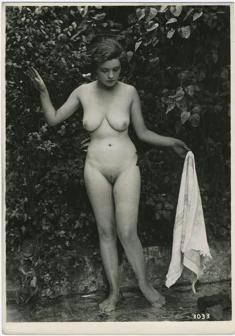 Something is. Vintage shaved nudes
