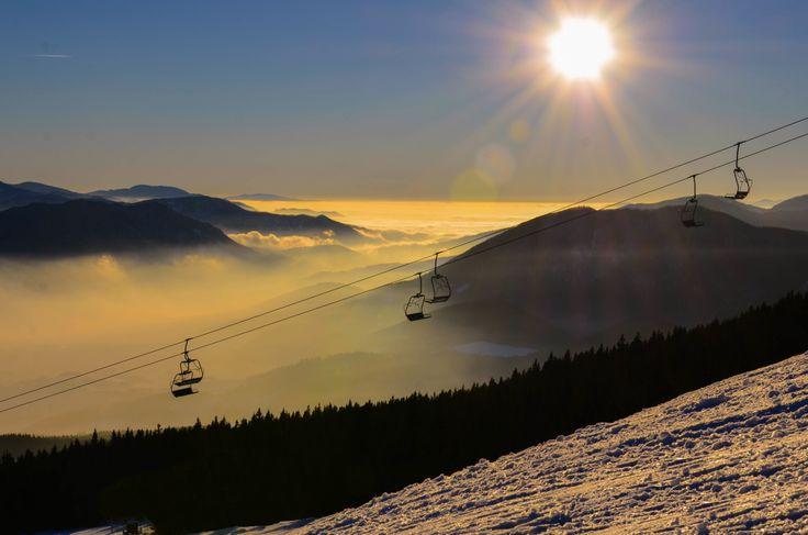 Slovakia ski resort Kubínska Hola