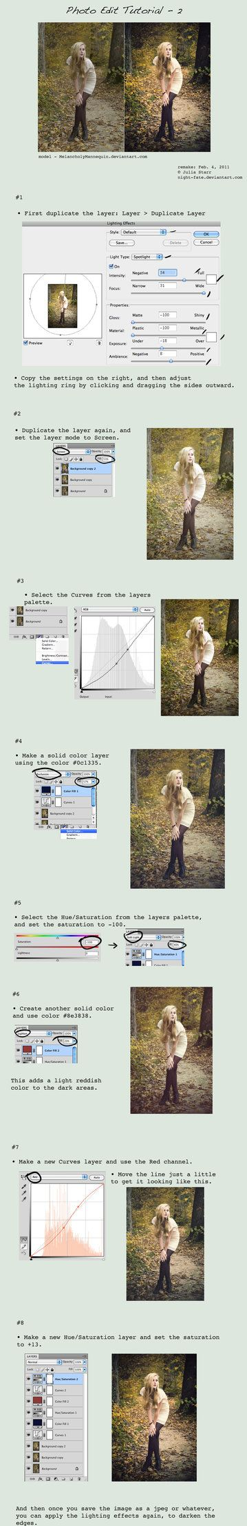Photo Editing Tutorial