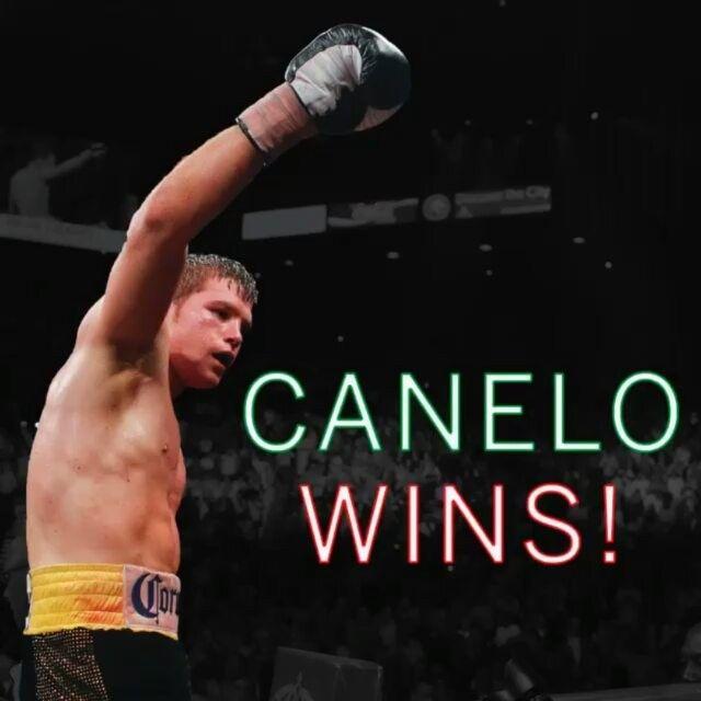 @Regrann from @espn -  Se acabó. Canelo Alvarez tops Amir Khan with a sixth-round knockout. #Regrann