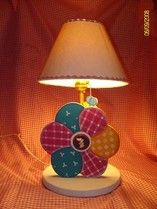 Flower lamp for girl bedroom decor