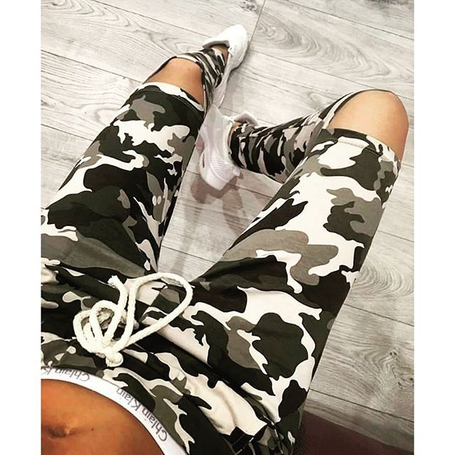 5 Style New Fashion women Sweatpants S-XXL Plus Size Camouflage Printed Womens Harem Pants 2016 Nineth Capris Casual Trousers