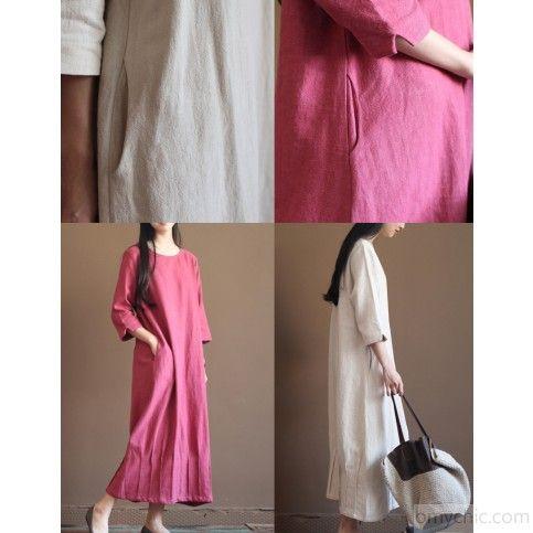 Розовое платье с длинным рукавом с длинным рукавом