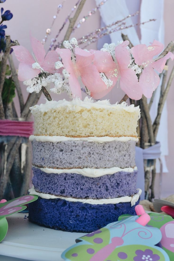 cake! homemade topper and scrumptious all around.