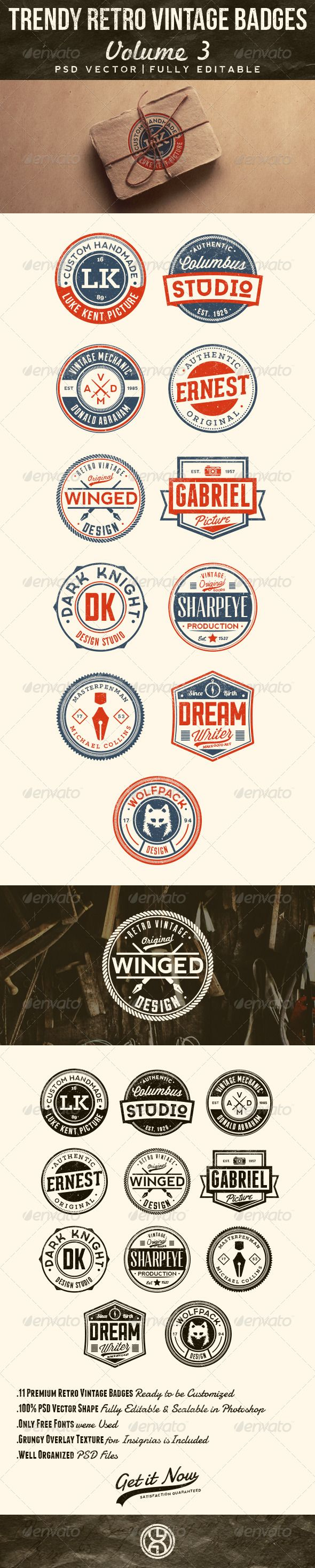 Trendy Retro Vintage Badges Template | Buy and Download: http://graphicriver.net/item/trendy-retro-vintage-badges-volume-3/7641567?WT.ac=category_thumb&WT.z_author=mining&ref=ksioks