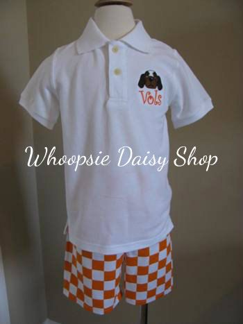 Boys University of Tennessee Game Day Set  Go Vols