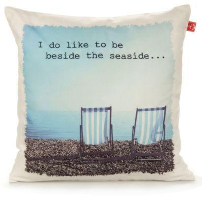 This Worthing Deckchairs Cushion will bring the seaside to the sofa #BalticSummer #Beach
